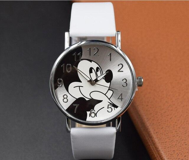 Vendita calda Carino vigilanza del fumetto Popolare orologi Al Quarzo di vendita Calda di modo e casuale del Bambino dei ragazzi del capretto orologio da polso delle ragazze delle donne relojes