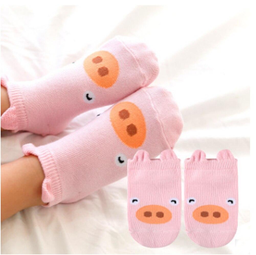 2019 bebé accesorios de moda Unisex calcetines 3D impresa lindo gato de corte bajo tobillo calcetines de algodón de dibujos animados de calentadores de la pierna regalos