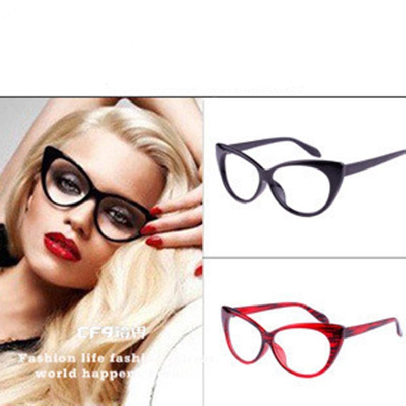 BOYEDA Moda Armações de Óculos Olho de Gato Óculos de Marca De Grife  Mulheres Optical Óculos de Olho de Gato Armação de óculos Feminino óculos 2460ca6a2e