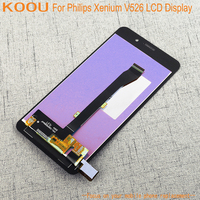 LCD Display For Philips Xenium V526 + Touch Screen Dightizer Assembly Replacement For Philips Xenium V526 Mobile Phone Display