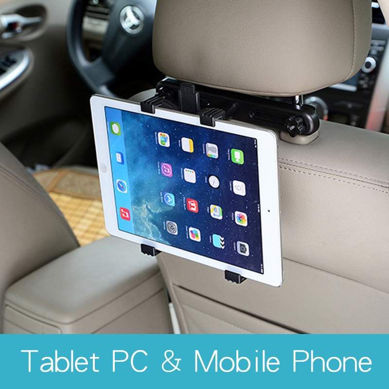 Tablet Car Holder Stand Support Car Rear Seat Holder 360 Degree Rotatable for Universal 7-12 inch Tablet Mobile Phone