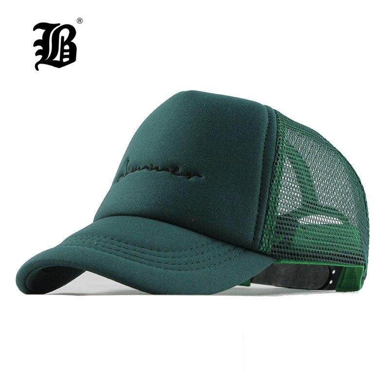 [FLB] Summer Mesh   Baseball     Cap   3-10year Kids Snapback Children Trucker Hat For Girl Boy Casual Casquette baby hats WholesaleF143