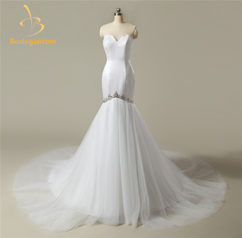 Buy 2017 new sexy mermaid wedding dresses for Aliexpress mermaid wedding dresses