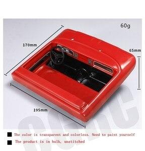 Image 3 - Simulado interior transparente cockpit para 1/10 rc rastreador carro trx4 bronco ranger