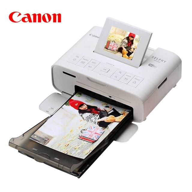 Высокое качество Canon CP1200 мобильный телефон фотопринтер беспроводной мини бытовая портативный цветной Принтер Фото печатная машина 910