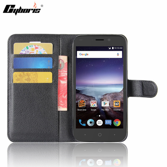 newest c4f6e 3833d US $3.56 19% OFF|CYBORIS for ZTE Prestige 2 N9136 Case Leather Phone Cover  for ZTE Prestige 2 N9136 Flip Cover Stand Wallet Bag Card Holder-in Wallet  ...