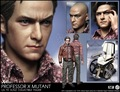 """1:6 scale Super flexible male figure X-Men: Apocalypse Young Professor X 3 heads 12"""" action figure doll Collectible Model toy"""