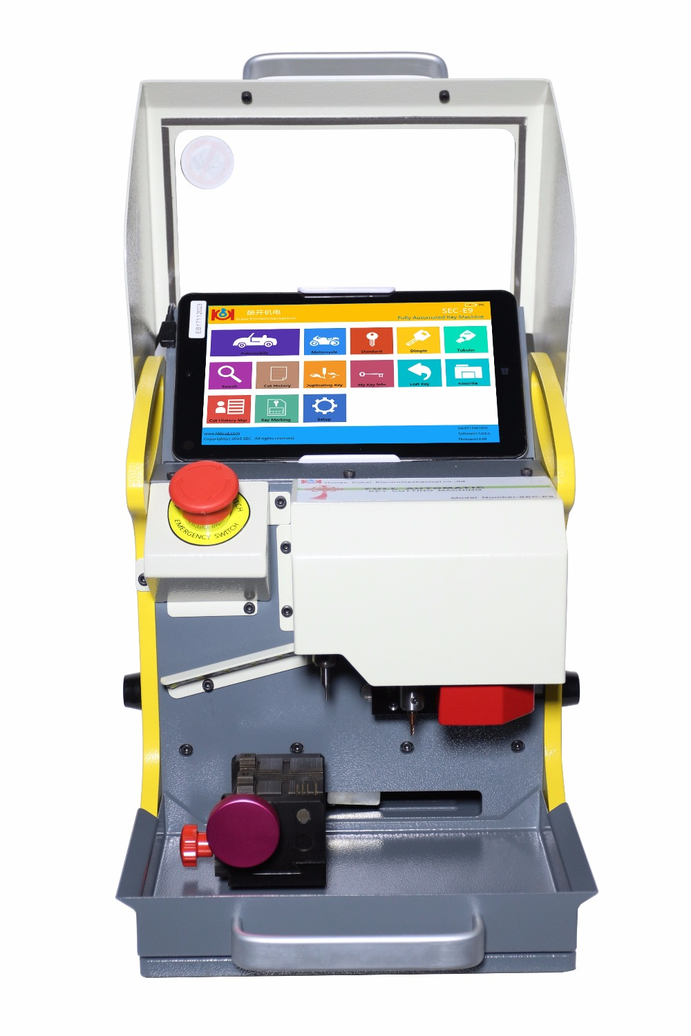 New 8 3 Inch Automatic Key Cutting Machine Sec E9 Portable