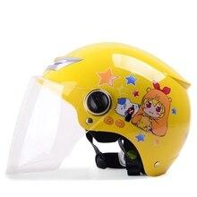 48 54cm Kids half helmet child boys girls motorcycle helmet Children Helmet safe Approved Christmas gifts