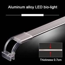 Aquarium LED Light 6300-7500K Clip-on Fish Tank Water Plant Grow Lighting Lamp LBShipping