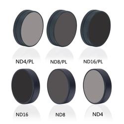 Mcoplus DJI OSMO ACTION Camera Lens Filter Sets ND4/8/16 ND4/8/16-PL Camera Filter for DJI Action Camera Accessorie