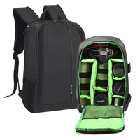 New Polyester Material Outdoor Waterproof Multifunctional DSLR Camera Backpack With Big Laptop Pocket And Tripod Hanging