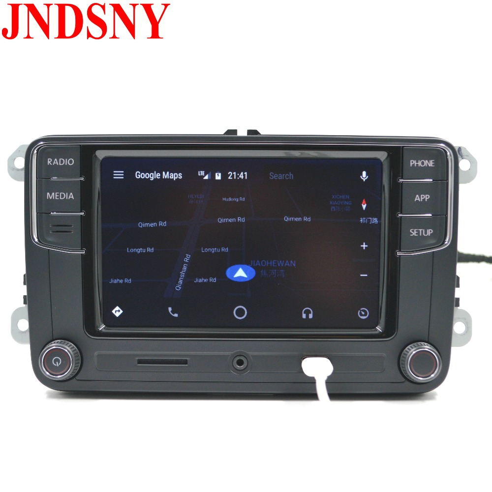 jndsny android auto carplay r340g rcd330 noname rcd330g plus car radio for vw golf 5. Black Bedroom Furniture Sets. Home Design Ideas