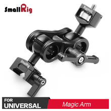 SmallRig DSLR Camera Articulating Arm with Screw Ballhead and NATO Clamp Ball head Quick Release Magic Arm for Monitor Support tilta ma t03 monitor arm articulating magic arm w quick release super clamp for follow focus 15mm rod dslr rig hdmi monitor