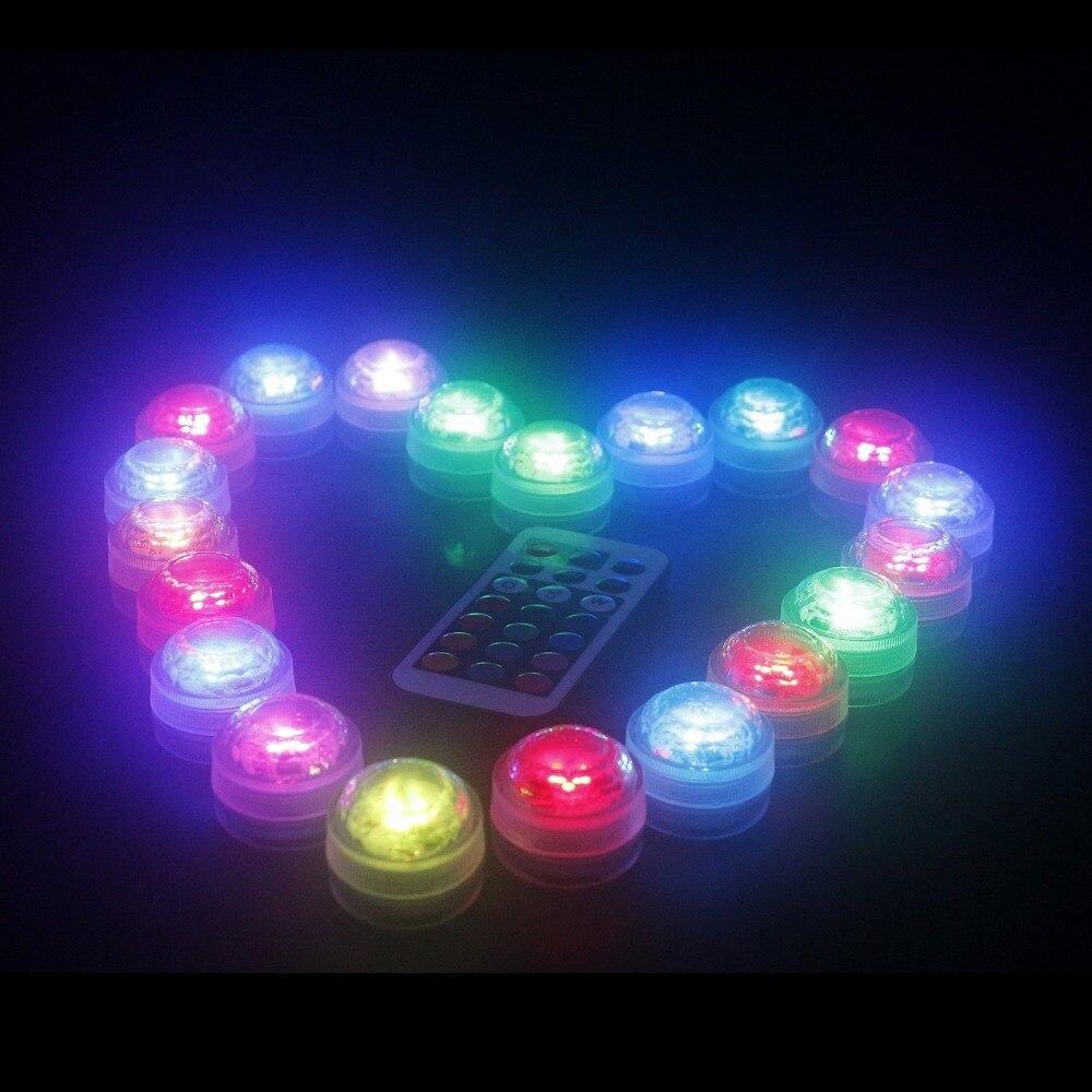 12PCS LED-lampor för fest, nedsänkbara LED-lampor LED-partilampor - Festlig belysning - Foto 5