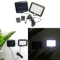 56 LED Solar Light Outdoor LED Solar Powered Garden Lights PIR Body Motion Sensor Solar Floodlights