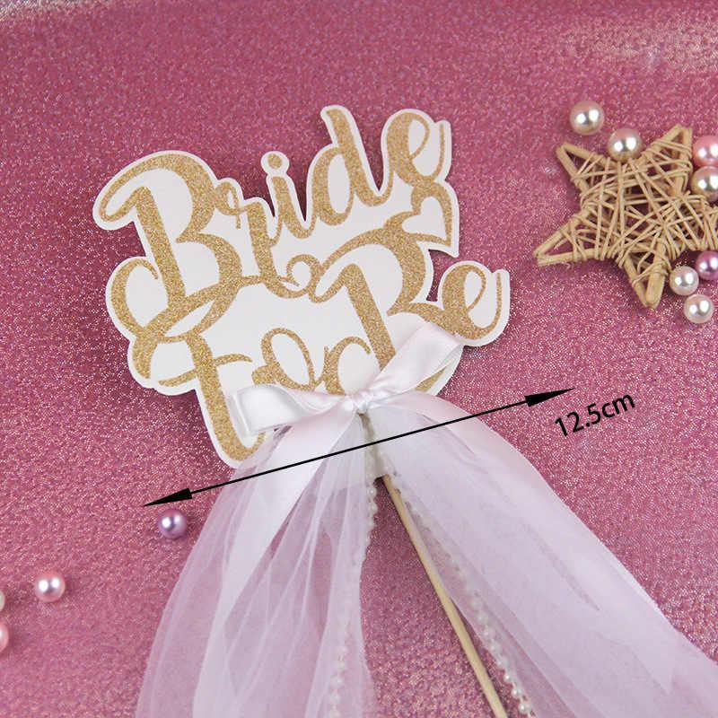 Невесты быть флажки для торта кекс торт Топпер топперы на день рождения свадебные пряжи упаковка для торта вечерние детские Душ выпечки DIY Рождество
