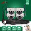 ANRAN Seguridad CCTV 4CH NVR Wifi 30 IR A Prueba de Vandalismo Cúpula 720 P Cámara de Red IP Sistema de Vigilancia de Vídeo Inalámbrico Con 1 TB HDD