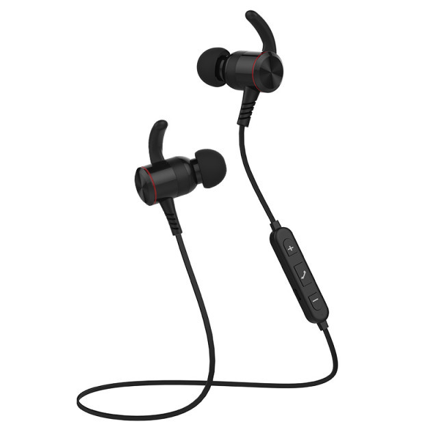 Bluetooth Earphone Headphone Sports Metal Heavy Bass Wireless Stereo Magnetic Bluetooth Headset for Xiaomi iPhone Android