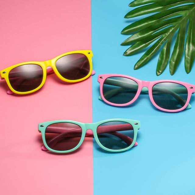 Long Keeper New Polarized Kids Sunglasses Boys Girls Baby