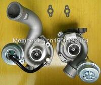 K03 53039880016 53039880017 078145701R Twin turbo turbocharger para Audi A6 2.7 T (C5) AJK V6 e Audi A6 lado direito do lado esquerdo