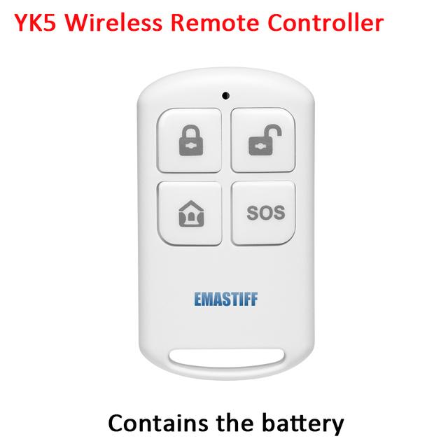 GSM Wireless Alarm System Kit with RFID
