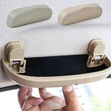 2017 Piezas de caja de Almacenamiento de Accesorios Autos Del Coche Conveniente Sunglass Gafas Caso Cuadro Titular Para Ford