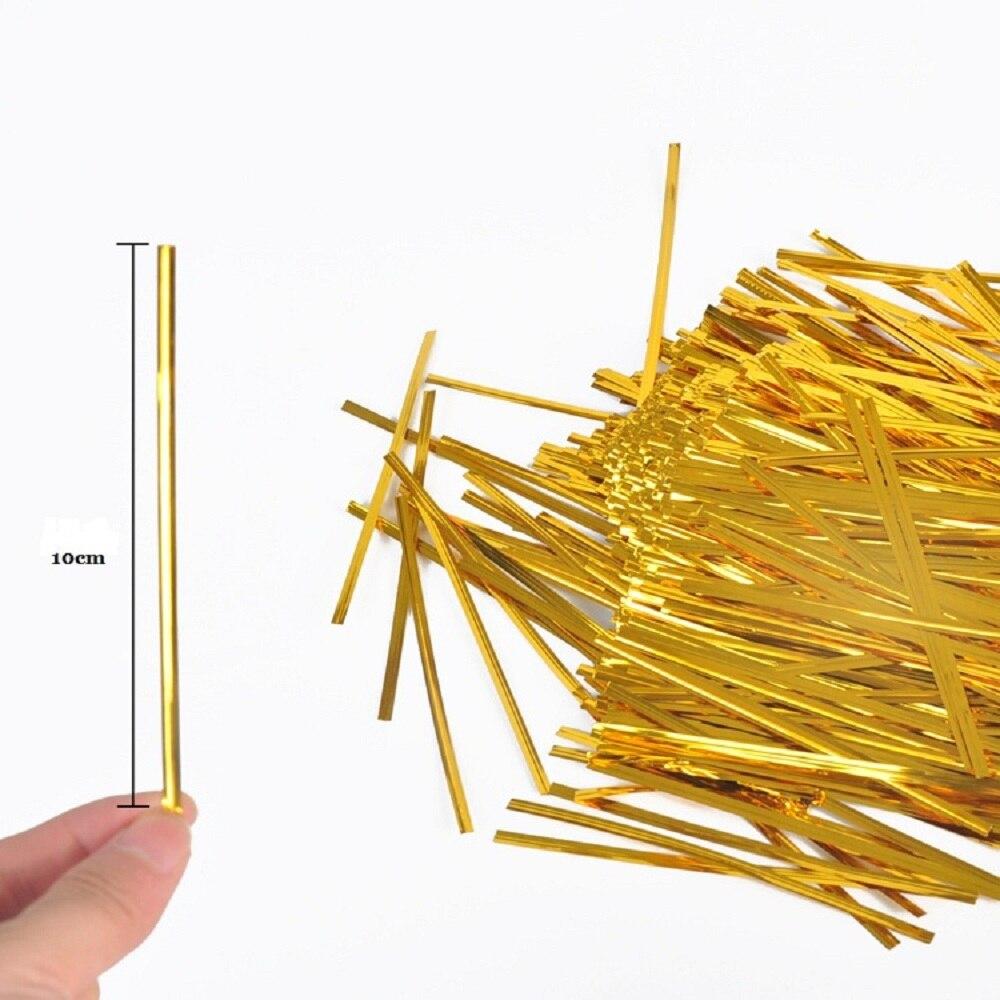 Визуальный сенсорный 100 шт./упак. торт поп леденец из полиуретана с открытыми порами Упакованные мешоки для выпечки шоколад поп пакет той же расцветки Сумочка, комплект Пластик прозрачный Инструменты для тортов - Цвет: 100pcs Seal wire