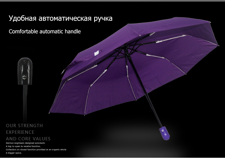 Wind Resistant Folding Automatic Umbrella Rain Women Male Auto Luxury Big  Windproof Umbrellas For Men Rain Black Coating Parasol - us84 5c12a12a183