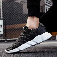 2019 Mens Shoes Men Flats Breathable Fashion Summer Flat Brand Drive Male Mesh Mens Casual Shoes For Men Sneakers Footwear Tenis