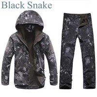 Tactical TAD Gear Soft Shell Camouflage Outdoor Jacket Set Men Army Sport Waterproof Hunting Clothes ACU