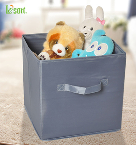 Modular Organizer Polyester Fabric Storage Box Storage Containers with Handle Foldable Drawer Organizer For Clothes Storage Bin