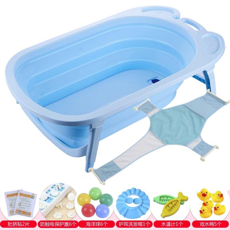 Foldable Hanging Baby Bath Tub for Newborn Travel Portable Baby ...