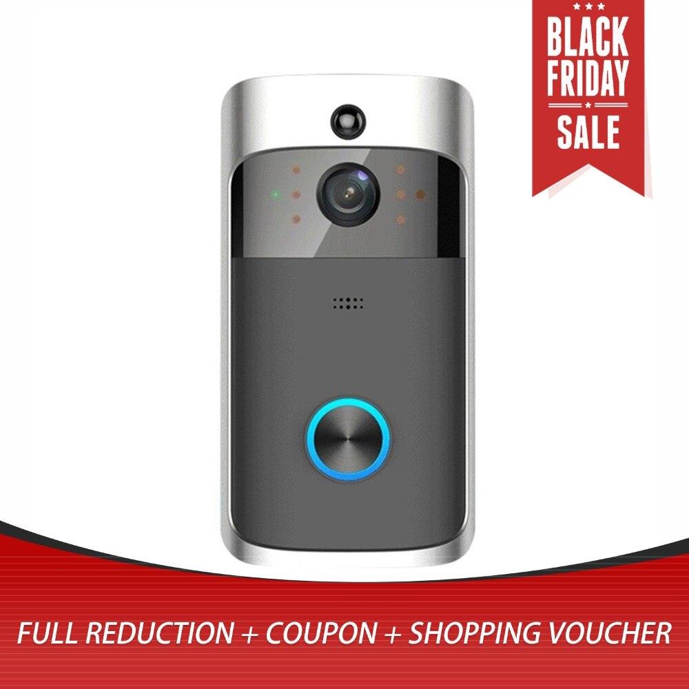 M3 Wireless Video Türklingel Kamera Ring Tür Glocke Zwei Weg Audio APP WIFI Fern Home Security HD Sichtbar Monitor