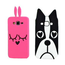 Innovation For Samsung Galaxy A3 2015 Case Soft Silicone 3D Cute Piglet Stitch Cartoon Phone Back Cover