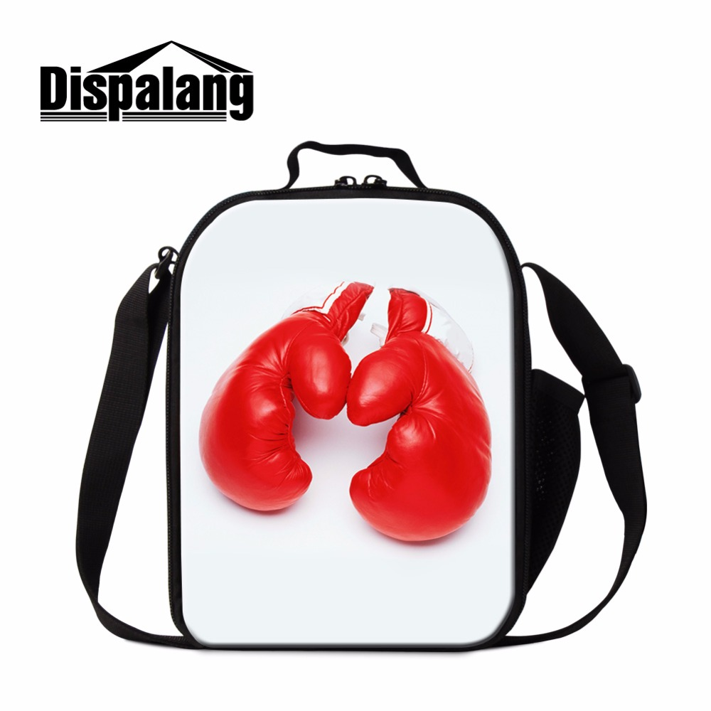 Dispalang best lunch totes Insulated portable mini Lunch pouch pretty Pattern Cool fashion Lunch sack bag for kid child boy girl