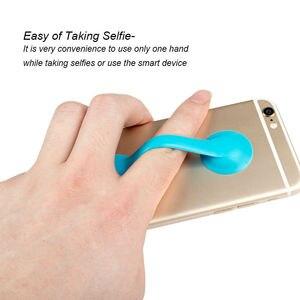 Универсальный резиновый ремешок для смартфона, держатель для iPhone Samsung