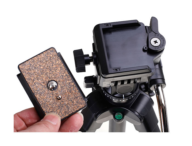 DSLR Camera Quick Release Plate 1/4 Screw Mount for Yunteng 950 Panoramic Head VCT-880RM Professional Tripod Head