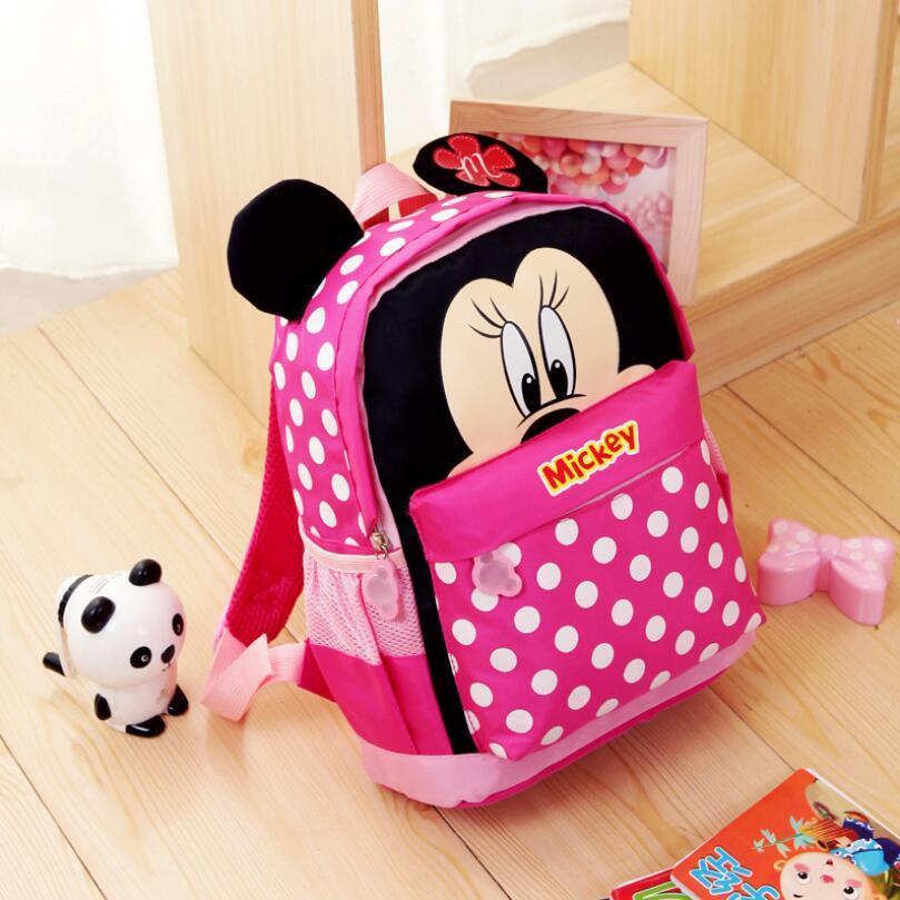 Kid School Bags/Satchel For Boys And Girls Free Shipping Cartoon Mickey Children Backpacks Kidsc