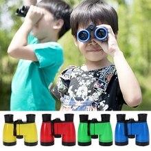 Детский телескоп, Детский бинокль 4x46, высокое разрешение, для путешествий, охоты