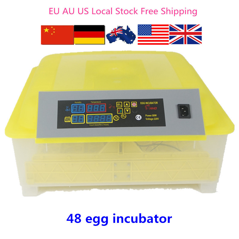 CE Approved High Quality 48 Chicken Egg Incubator For Sale Cheap incubator automatic for hatching eggs DL 48 small chicken poultry hatchery machines 48 automatic egg incubator 220v hatching for sale