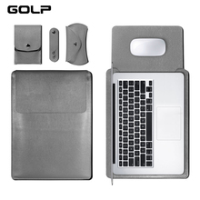 GOLP Universal PU Leather Soft Sleeve Bag Case For