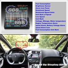 For Citroen DS5 DS 5 2011~2015 - Saft Driving Screen Car HUD Head Up Display Projector Refkecting Windshield