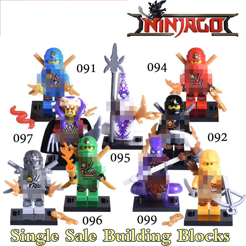 1PC Supeheroes Ninja Turtles  KAI JAY COLE ZANE Lloyd Pythor Kapau Skylor Master Chen Building Blocks Kids Toys Xmas [yamala] 15pcs lot compatible legoinglys ninjagoingly cole kai jay lloyd nya skylor zane pythor chen building blocks ninja toys
