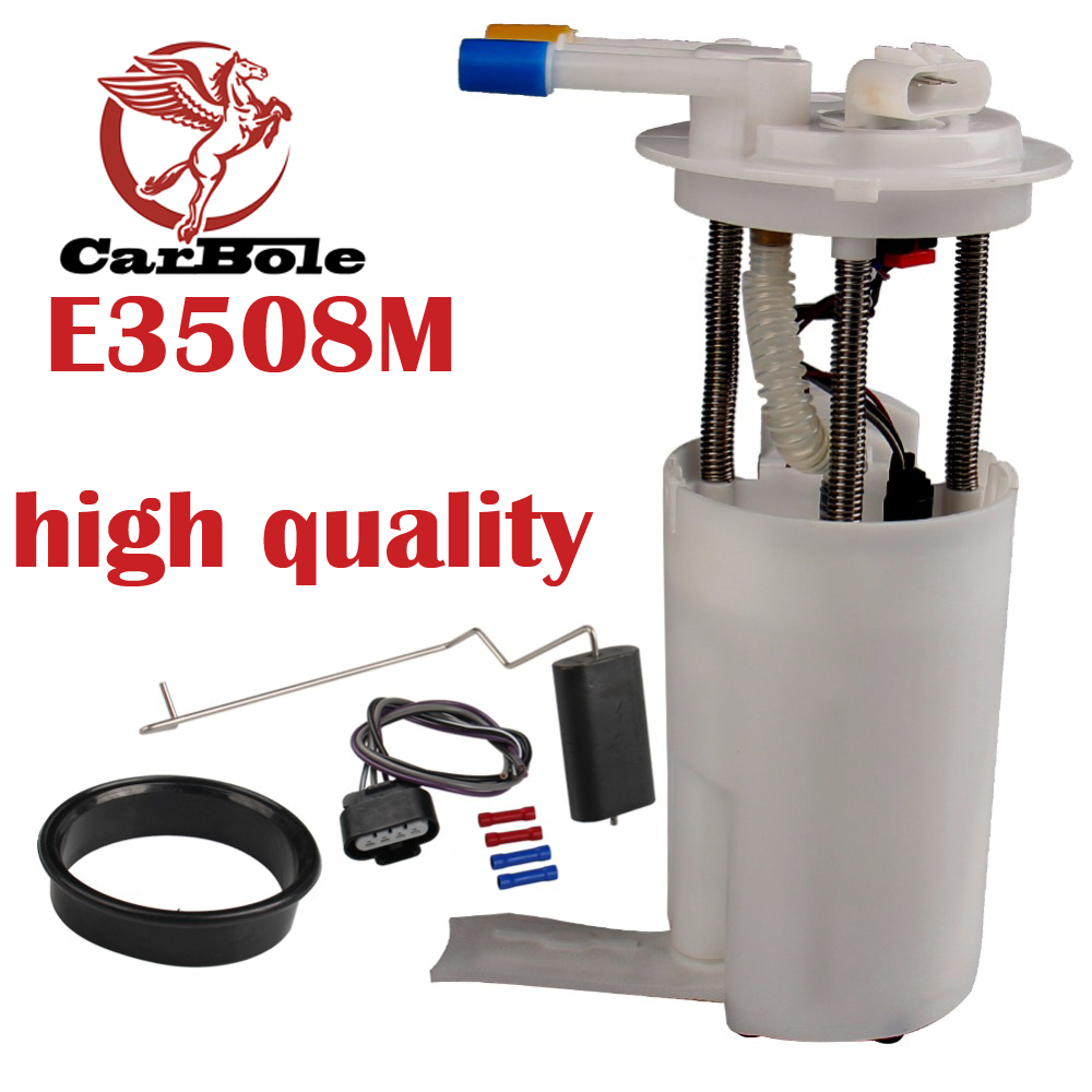 CarBole Professional Gasoline Pump Module for GMC Yukon Chevrolet V8 4.8 5.3 6.0L E3508M fuel pump assembly