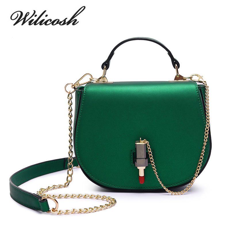 Wilicosh 2017 Summer Fashion Design Women PU leather Shoulder Bag Female High Qu