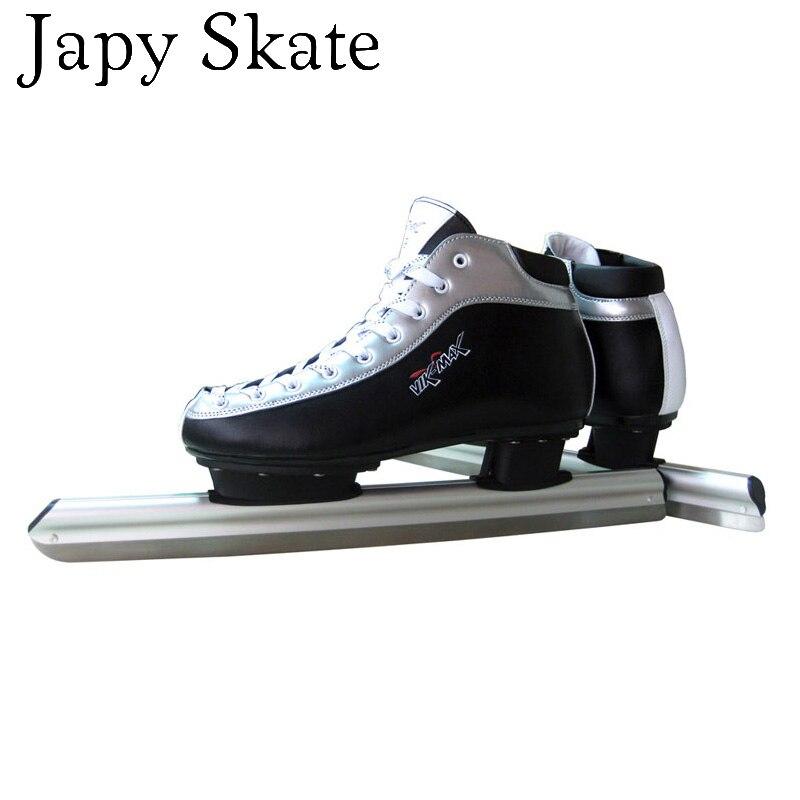Prix pour Jus japy Skate Dislocation De La Lame De Patins À Glace Chaussures Adulte enfant Patins À Glace Professionnel Vitesse Couteau de Course Couteau la Vraie Glace patins