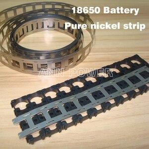 Image 1 - 무료 배송 18650 배터리 순수 니켈 스트립 18650 셀 니켈 테이프 0.15*27*5000mm 니켈 벨트 18650 배터리 홀더에 사용