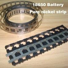 Darmowa wysyłka 18650 baterii pasek z czystego niklu 18650 komórek nikiel taśmy 0.15*27*5000mm nikiel pas używany do 18650 uchwyt baterii
