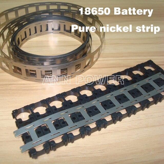 Livraison gratuite 18650 batterie nickel pur bande 18650 cellule nickel bande 0.15*27*5000mm nickel ceinture utilisée pour 18650 support de batterie